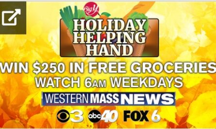 Western Mass News Holiday Helping Hands Sweepstakes