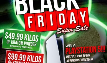 YoKratom.com Black Friday Playstation 5 Giveaway