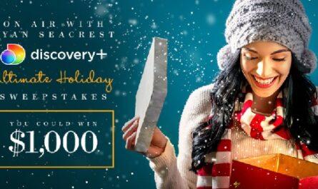Ryan Seacrest's Sambucol Holiday Sweepstakes