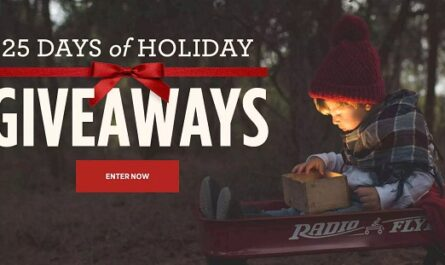 Radio Flyers 25 Days of Holiday Giveaways 2020