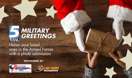 WRAL Military Greetings Contest