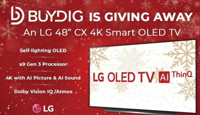 BUYDIG 4K Smart TV Giveaway