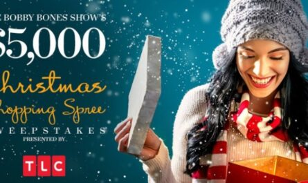 Bobby Bones Show $5000 Christmas Shopping Spree Sweepstakes