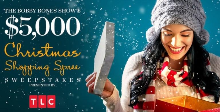 Bobby Bones Show $5000 Christmas Shopping Spree Sweepstakes