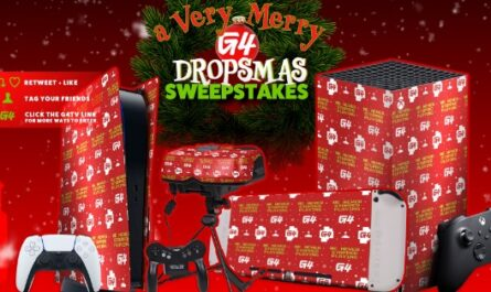 A Very Merry G4 Dropsmas Sweepstakes