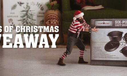 Camp Chef 12 Days Of Christmas Giveaway