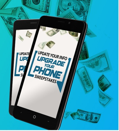 Credit One Bank Update Your Info Upgrade Your Phone Sweepstakes