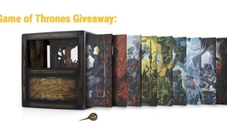 Game Of Thrones The Complete Collection Giveaway