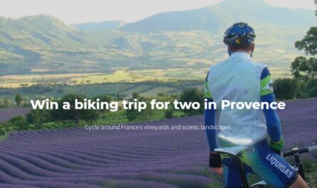 Biking Trip For Two In Provence, France Giveaway