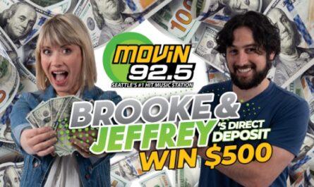 KQMV Brooke And Jeffrey Direct Deposit Sweepstakes