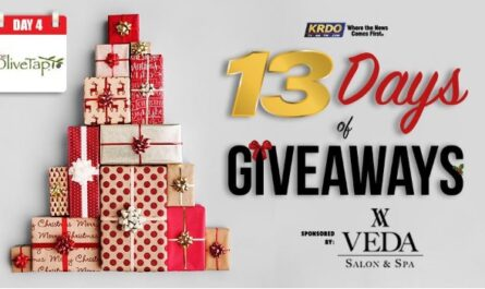 KRDO Olive Tap 13 Days Of Giveaway