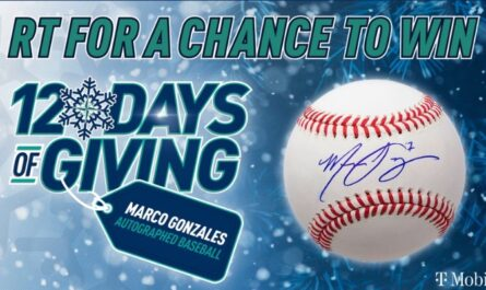MLB Seattle Mariners 12 Days Of Giveaway