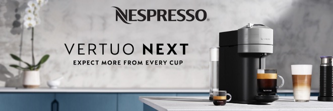 Nespresso Vertuo Next Coffee And Espresso Machine Sweepstakes