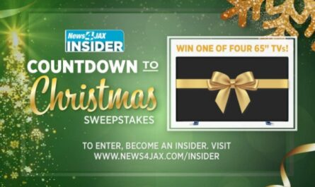 News4JAX Insider Countdown To Christmas Sweepstakes