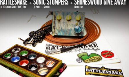 Rattlesnake Cables Sonic Stompers Giveaway