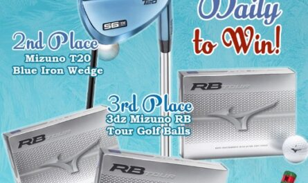 Rock Bottom Golf December Giveaway