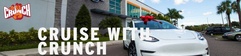 Crunch Win A Tesla Sweepstakes