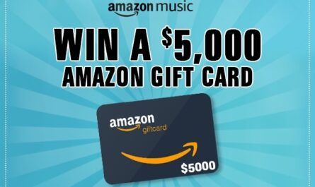 Amazon.com $5k Gift Card Sweepstakes