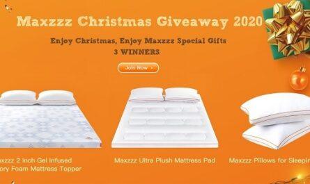 Maxzzz Christmas Giveaway 2020