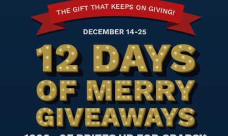 Cinemark's 12 Days of Christmas Giveaways