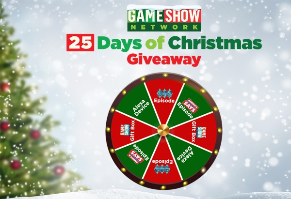 GSNTV Game Show Network 25 Days of Christmas Giveaway