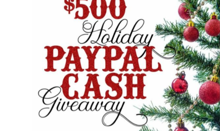 $500 Holiday Cash Sweepstakes