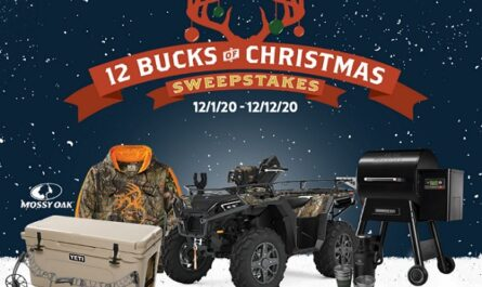 Legendary Whitetails 12 Bucks of Christmas Sweepstakes