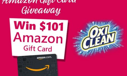Oxiclean Amazon Gift Card Giveaway
