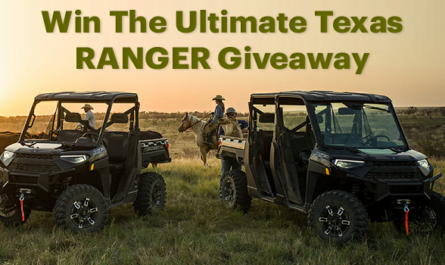 Polaris Ultimate Texas Ranger Giveaway