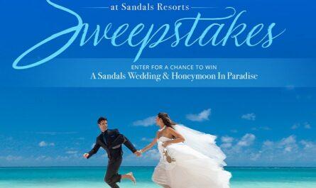 Sandals Resorts Wedding Sweepstakes