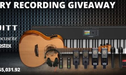 AMS Recording Package Giveaway