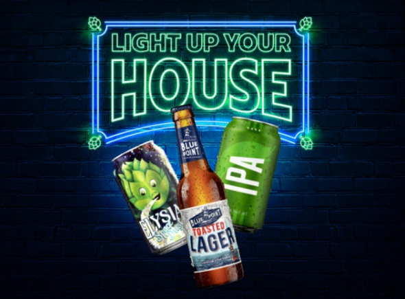 Anheuser-Busch, Light Up Your House Giveaway