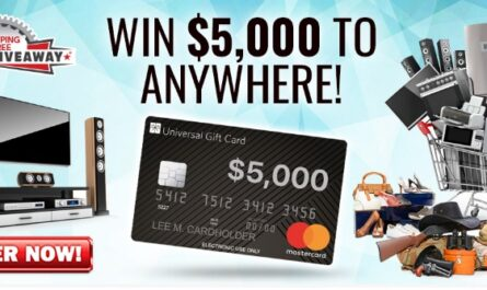 Dream Giveaway Shopping Spree Sweepstakes