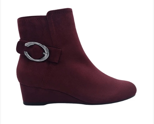 Guevera Wedge Bootie With Memory Foam Giveaway