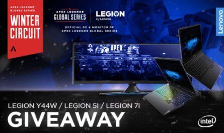 Lenovo Legion ALGS Winter Circuit Giveaway