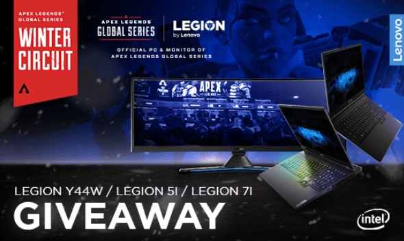 Lenovo Legion ALGS Winter Circuit Giveaway