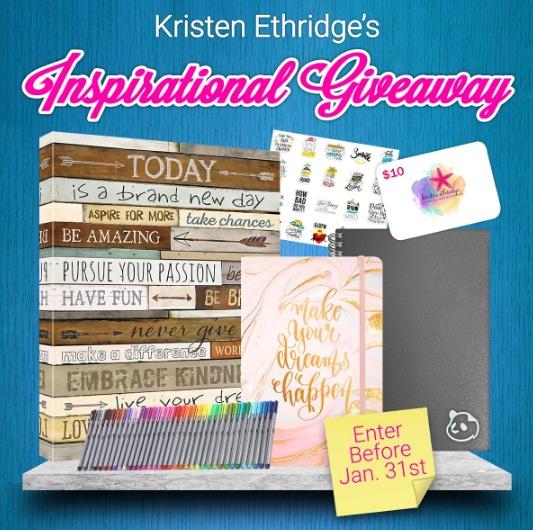 Kristen Ethridges Inspirational Giveaway