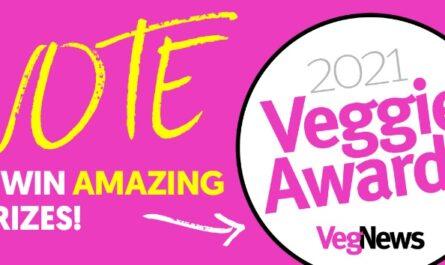 VegNews 2021 Veggie Awards Giveaway
