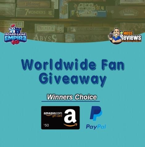 Worldwide Fan Giveaway