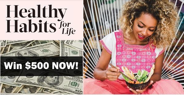 Eatingwell Healthy Habits for Life Sweepstakes