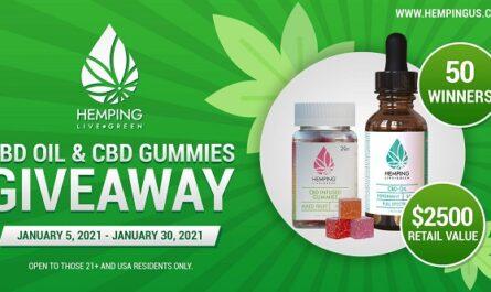 Hempingus CBD Oil & CBD Gummies Giveaway