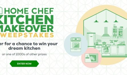 Home Chef Kitchen Makeover Sweepstakes
