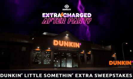 Dunkin Little Somethin Extra Sweepstakes