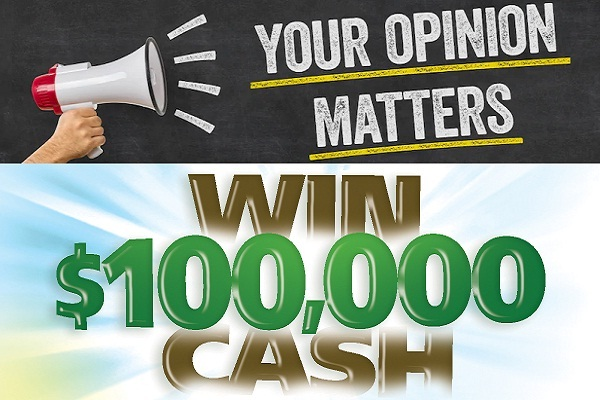 Opinionsquare.com Your Opinion Matters Sweepstakes