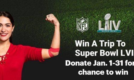 American Red Cross Super Bowl LVI Giveaway