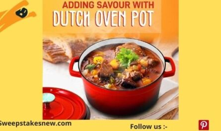 NutriChef Enameled Cast Iron Dutch Oven Giveaway