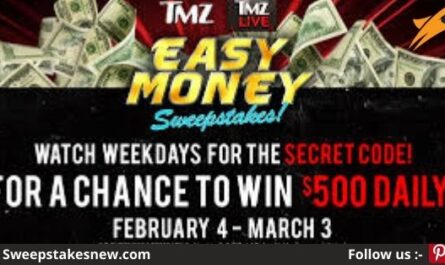 TMZ Easy Money Sweepstakes