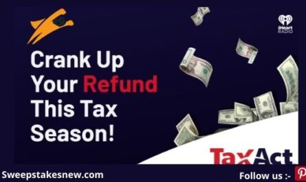 Tax Act Boosts Your Returns! Sweepstakes