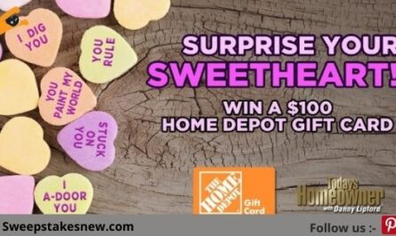 Todays Homeowner Surprise Your Sweetheart Giveaway