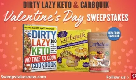 Dirty Lazy Keto No Time To Cook Valentines Day Sweepstakes